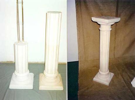 molde para columnas de yeso